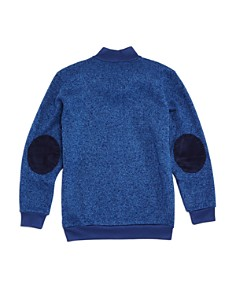Brooks Brothers - Boys' Marled Fleece Zip-Up Sweater - Big Kid