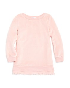 Splendid - Girls' Frayed Velour Dress - Little Kid