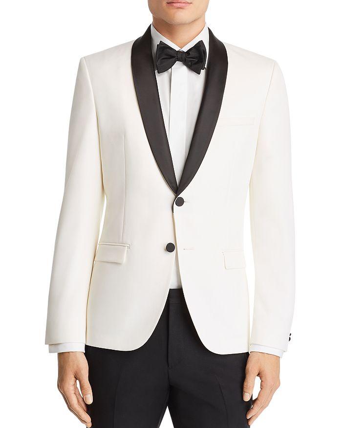 HUGO - Hugo Arti Satin-Lapel Slim Fit Tuxedo Jacket
