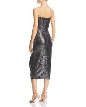 Rachel Zoe - Marie Metallic Strapless Dress - 100% Exclusive