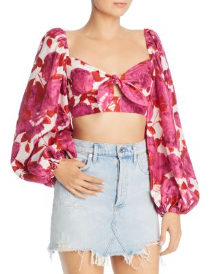 Dulce Cropped Top by Alice Mc Call