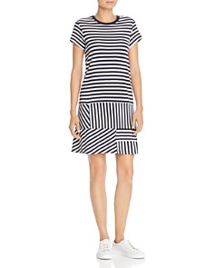 ATM Anthony Thomas Melillo - Striped Piqué Dress
