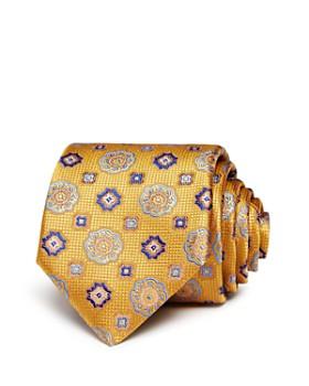 Canali - Floret Medallion Silk Classic Tie