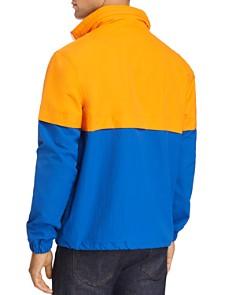 Calvin Klein Jeans - Logo-Print Color-Block Windbreaker Jacket