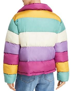Glamorous - Multicolored Puffer Jacket