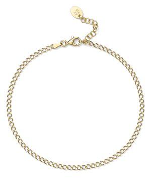 Argento Vivo Link Anklet in 18K Gold-Plated Sterling Silver or Sterling Silver