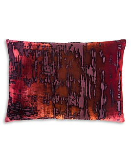 "Kevin O'Brien Studio - Brush Stroke Velvet Decorative Pillow, 14"" x 20"""