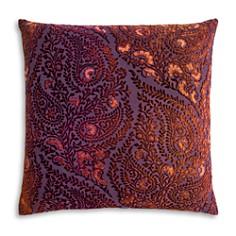 "Kevin O'Brien Studio - Henna Velvet Decorative Pillow, 20"" x 20"""