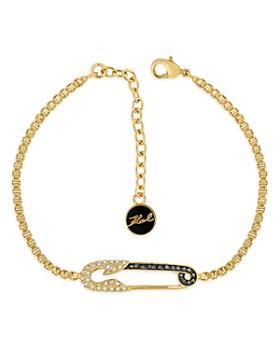 KARL LAGERFELD Paris - Safety Pin Bracelet