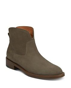 Via Spiga - Women's Baxter Almond Toe Ankle Boots
