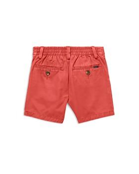 Ralph Lauren - Boys' Flat-Front Twill Shorts - Baby