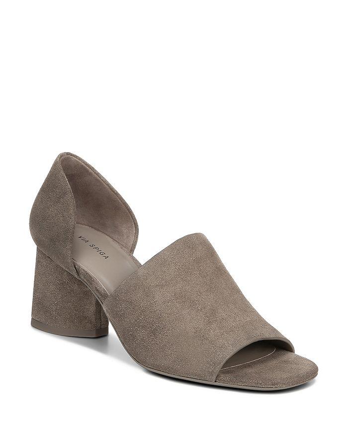 Via Spiga - Women's Leah Block Heel Sandals