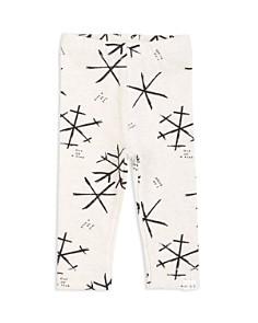 Miles Baby - Girls' Snowflake-Print Leggings - Baby