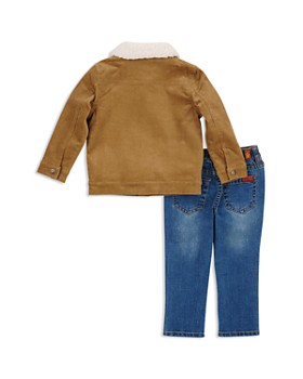 7 For All Mankind - Boys' Corduroy Jacket, Tee & Jeans Set - Little Kid