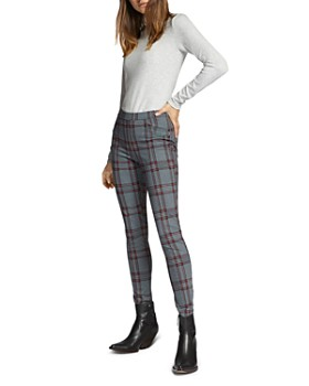 Sanctuary - Grease Houndstooth Plaid Leggings