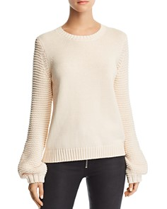 BB DAKOTA - Blouson-Sleeve Sweater