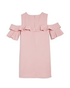 Bardot Junior - Girls' Tilvie Ruffled Cold-Shoulder Shift Dress - Big Kid