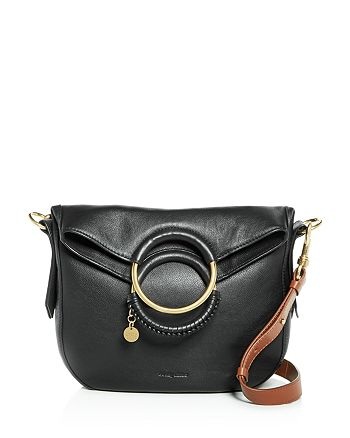 9fc3c067 See by Chloé Monroe Ring Handle Convertible Leather Shoulder Bag ...