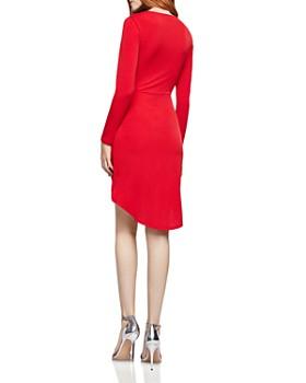 BCBGeneration - Twist-Front Crossover Dress