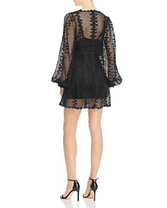 Alice McCall - Dark Lady Metallic Crochet Dress
