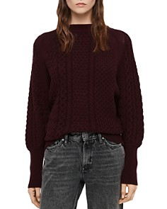 ALLSAINTS - Dilone Mixed Knit Sweater