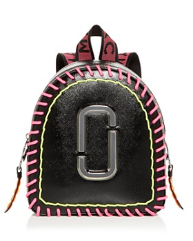 d66b2e26d62b MARC JACOBS - Pack Shot Whipstitch Leather Backpack ...