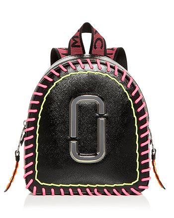 MARC JACOBS - Pack Shot Whipstitch Leather Backpack