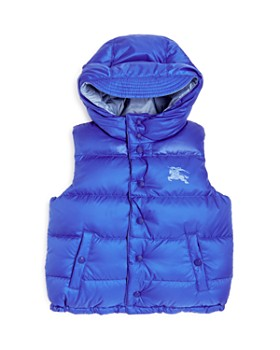a37558638a36 Burberry - Boys  Skye Reversible Hooded Down Puffer Vest - Little Kid
