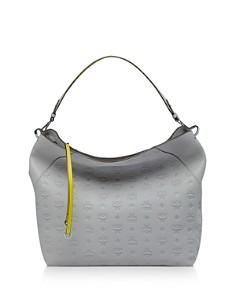 MCM - Klara Large Monogrammed Leather Hobo