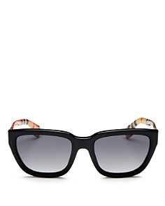 Burberry - Men's Polarized Square Sunglasses, 54 mm