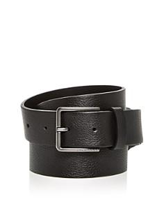 HUGO - Carlo Embossed Grainy Leather Belt