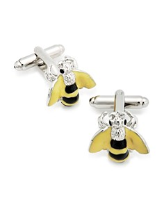 LINK UP - Bumble Bee Cufflinks