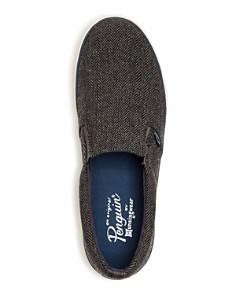 Original Penguin - Men's Beckett Herringbone Slip-On Sneakers