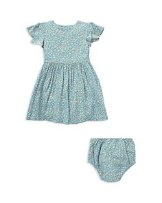 Ralph Lauren - Girls' Shirred Floral Dress & Bloomers Set - Baby