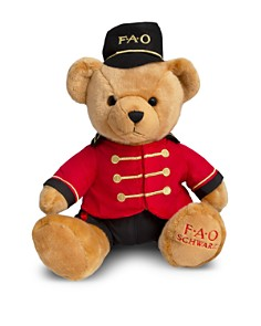 FAO Schwarz - Plush Toy Soldier Bear - Ages 3+