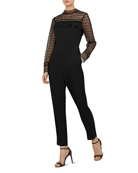 Ted Baker - Rosen Lace Frill Jumpsuit