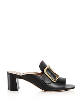 Bally - Women's Janaya Block-Heel Slide Sandals