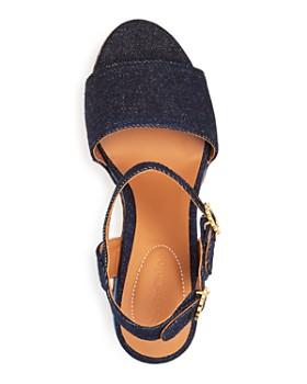 1d7cf3a3da2 ... See by Chloé - Women s Carrie Scalloped Platform Wedge Sandals