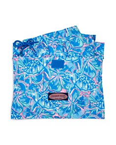 Vineyard Vines - Boys' Tropical Turtles Chappy Swim Trunks - Little Kid, Big Kid