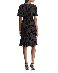 Ralph Lauren - Floral Burnout Velvet Dress