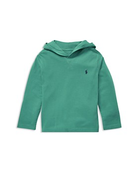 Ralph Lauren - Boys' Cotton Jersey Hoodie - Little Kid