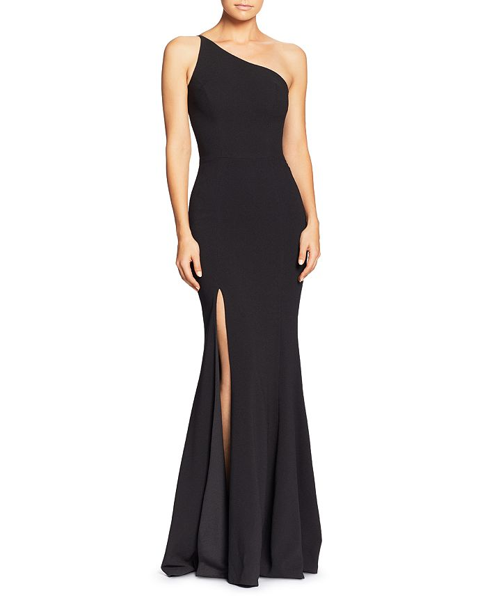 Dress the Population - Amy One-Shoulder Gown