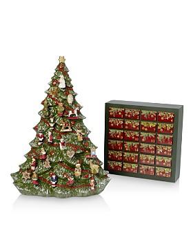 Villeroy & Boch - Christmas Tree & Advent Calendar, Set of 2