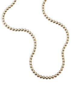 Ela Rae - Dina Collar Necklace in 14K Gold-Plated Sterling Silver or Rhodium-Plated Sterling Silver, 14""