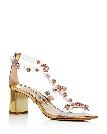 Sophia Webster - Women's Dina Embellished Block-Heel Sandals