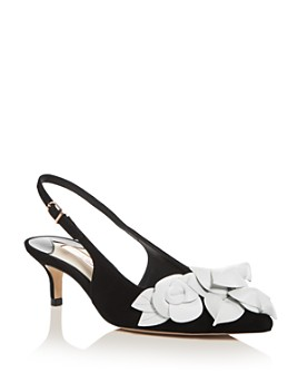 Sophia Webster - Women's Jumbo Lilico 50 Slingback Kitten-Heel Pumps
