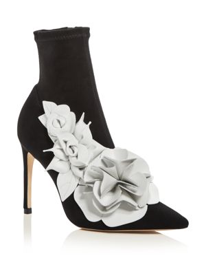 Sophia Webster Women's Jumbo Lilico High-Heel Booties