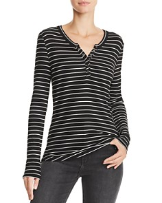 PAIGE - Marlea Striped Top