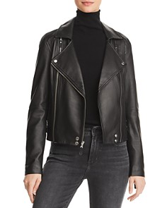 PAIGE - Fontana Leather Moto Jacket