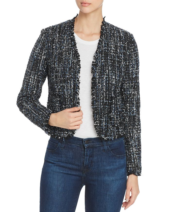 Bagatelle - Metallic-Tweed Jacket